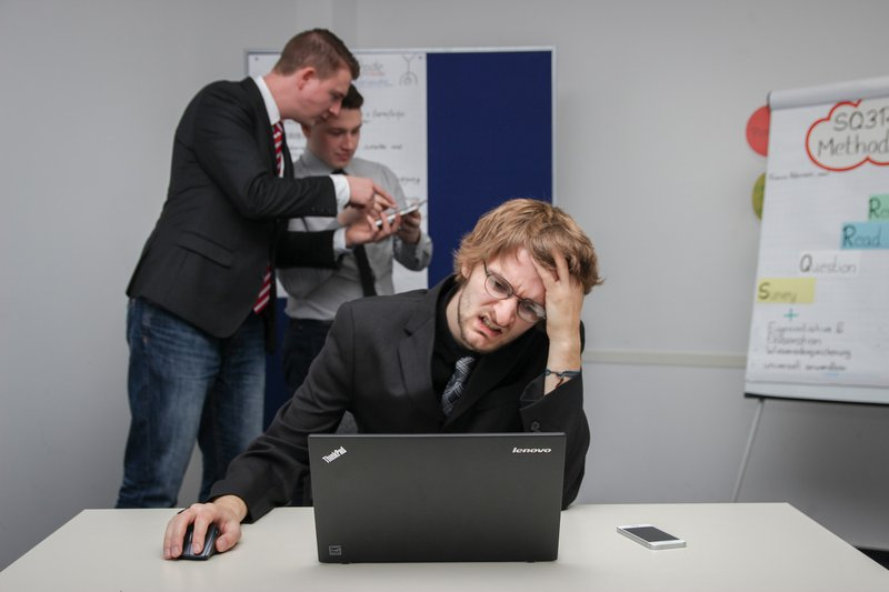Negative emotions at workplace- frustration