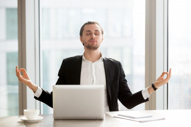 Manage emotions at work- do yoga to keep yourself calm and composed